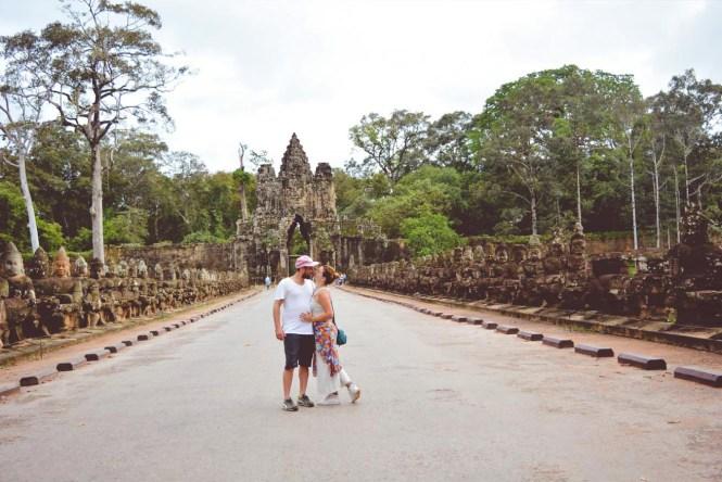 visitar los templos de angkor