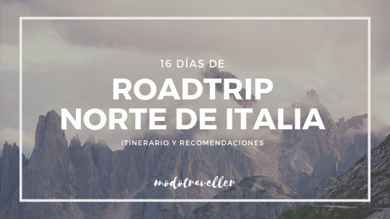Roadtrip por el norte de Italia