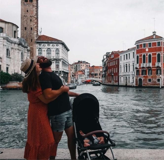 Viajar a Venecia con bebé