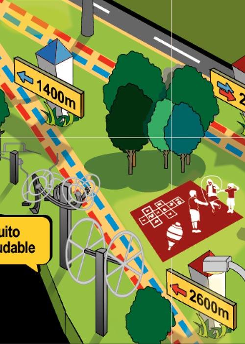 ilustración diseño gráfico ciudad real patronato de deportes 5