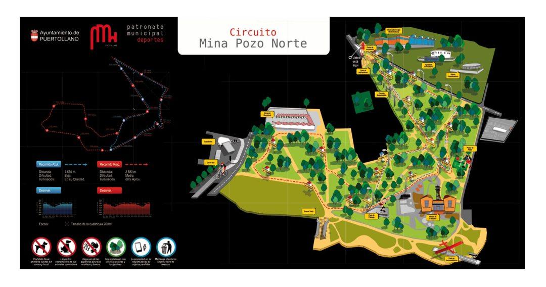 ilustracion-recorrido-pozo-mina-norte-patronato-de-deportes