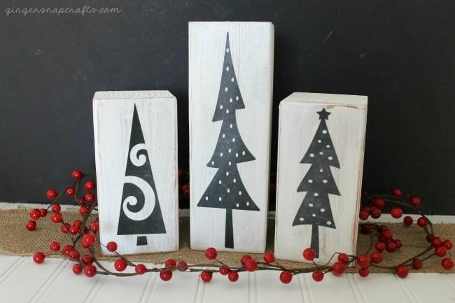 chalkboard trees