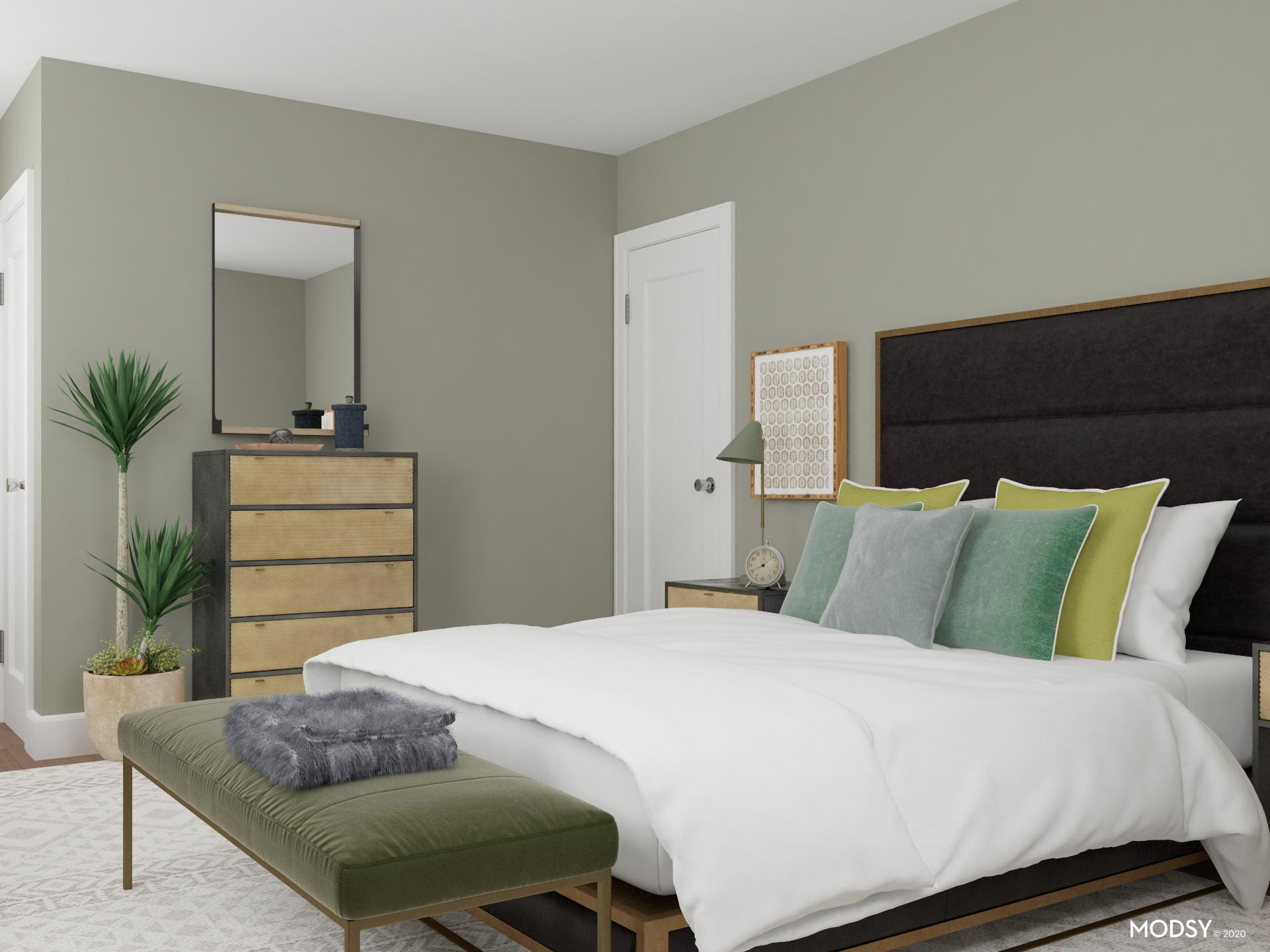 Green Is The New Neutral: Bedroom Design | Minimalist ... on Neutral Minimalist Bedroom Ideas  id=17930