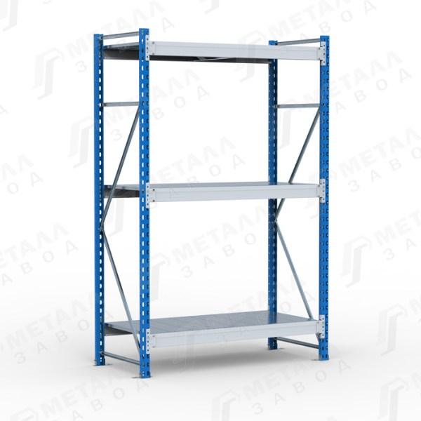 Металлические среднегрузовые стеллажи SGR