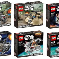 LEGO Star Wars Microfighters Mini Ships with Minifigure