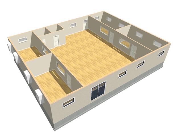 This remodeled 2000 model modular building is currently available for sale.  See pictures and video under the used tab.  www. modular resale .com.