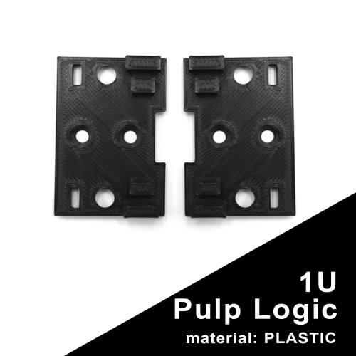 1U Pulp Logic Eurorack Side Bracket