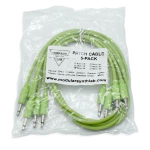 Eurorack Patch Cable_Glow In The Dark_9-150cm_Modular Synth Lab