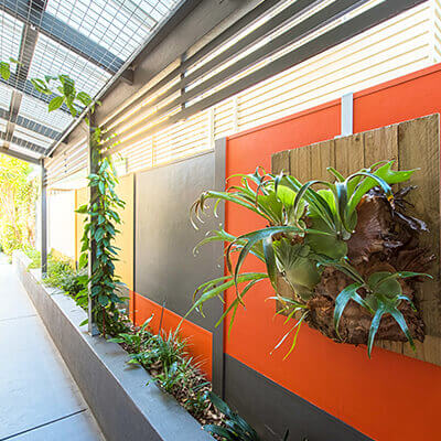 Residential Outdoor Feature Wall Systems | ModularWalls on Backyard Feature Walls  id=26984