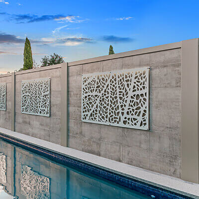 Residential Outdoor Feature Wall Systems | ModularWalls on Backyard Feature Walls  id=16617