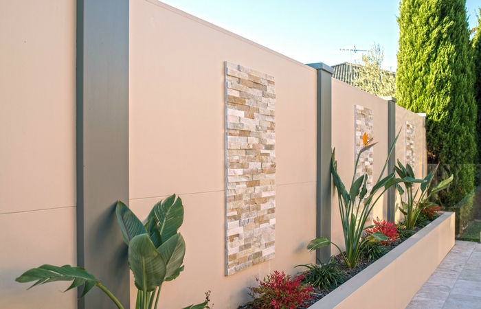 Outdoor Feature Wall Ideas for your Backyard | ModularWalls on Backyard Feature Walls  id=78098