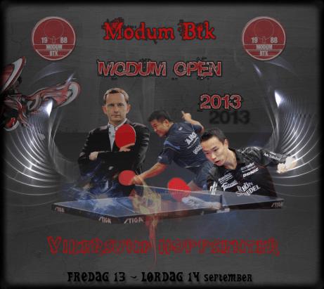 Modum Open-plakat 2013