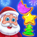 Christmas Cookie – Santa Clauss Match 3 Adventure APK MODs Unlimited money free Download on Android