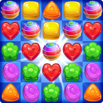 Cookie Rush Match 3 APK MODs Unlimited money free Download on Android