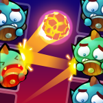 Magic vs Monster – Brick Breaker Bounzy Free Game 1.47 APK MODs Unlimited money free Download on Android