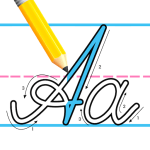Kids Learn Cursive Writing – Cursive For Toddlers 10.0 APK MODs Unlimited money free Download on Android