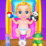 Babysitter Crazy Baby Daycare – Fun Games for Kids 1.0.10 APK MODs Unlimited money free Download on Android