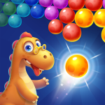 Bubble Shooter Primitive Dinosaurs – Egg Shoot 1.02 APK MODs Unlimited money free Download on Android