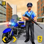 Police Moto Bike Chase Crime Shooting Games 2.0.21 APK MODs Unlimited money free Download on Android