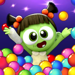 SPOOKIZ PANG Bubble Shooting Varies with device APK MODs Unlimited money free Download on Android