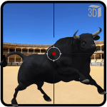 Angry Bull Attack Shooting 802.5 APK MODs Unlimited money Download on Android