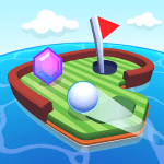 Mini Golf Worlds 1.5.489 APK MODs Unlimited money Download on Android