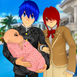 Anime Family Simulator Pregnant Mother Games 2021 1.1.7 APK MODs Unlimited money Download on Android