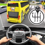 Bus Driving Simulator Games Coach Parking School 1.7 APK MODs Unlimited money Download on Android