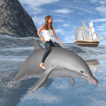 Dolphin Transport Passenger Beach Taxi Simulator 5.2 APK MODs Unlimited money Download on Android