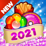 Fast Food 2020 New Match 3 Free Games Without Wifi 2.1.0 APK MODs Unlimited money Download on Android