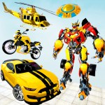 Grand Robot Car Transform 3D Game 1.35 APK MODs Unlimited money Download on Android