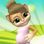 Pregnant Talking Cat Emma 2.9.3 APK MODs Unlimited money Download on Android