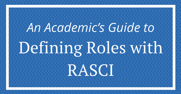 Guide to defining roles in RASCI matrix
