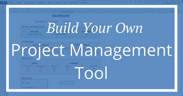 Build your own project management tool