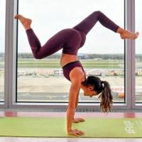 Yoga πριν την πτήση σας;