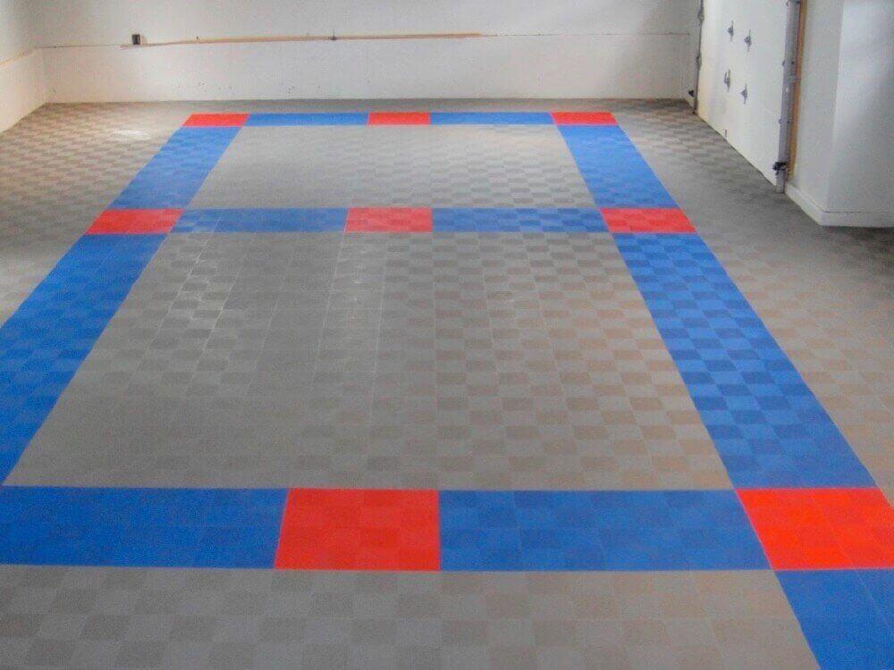 perforated garage floor tiles diy interlocking system mesh drain
