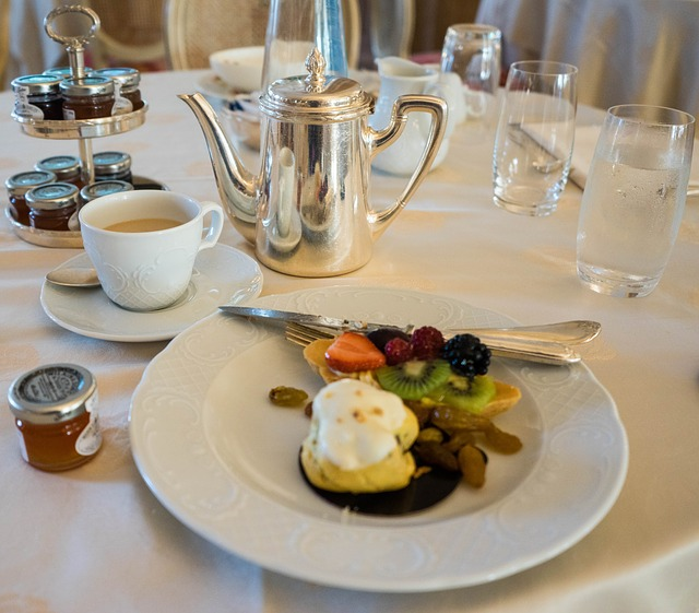 italian hotel breakfast luxury foods