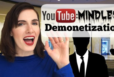 YouTube Mindless Demonetization Strategy
