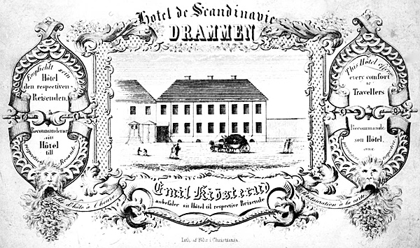 Emil Kiøsteruds Hotel Scandinavie, Drammen