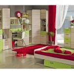Achtteilieges Komplettjugendzimmer Lorento Schrank Schreibtisch Bett Kommode Und 4 Regale Gunstig