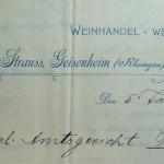 Sebald Strauss Geisenheim Judenhaus