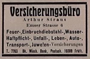 Judenhaus Wiesbaden Bahnhofstr. 46, Bahnhofstr. 25