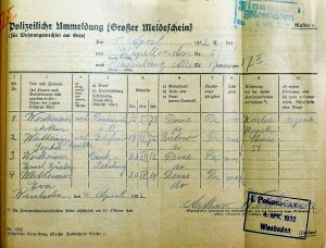 Arthur Wertheimer, Sophie Wertheimer, Eva Gerstle-Wertheimer, Judenhaus Herrngartenstr. 11, Wiesbaden