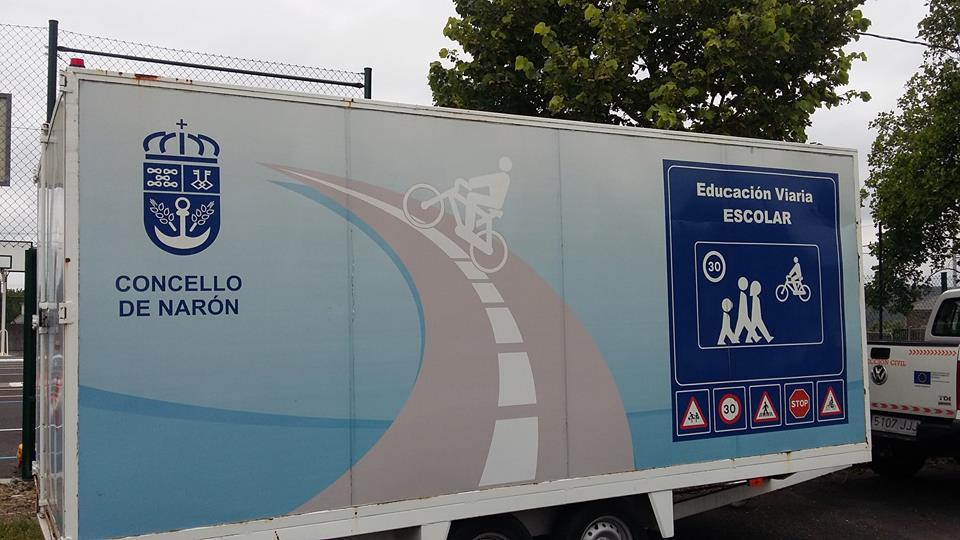 Educación viaria na escola