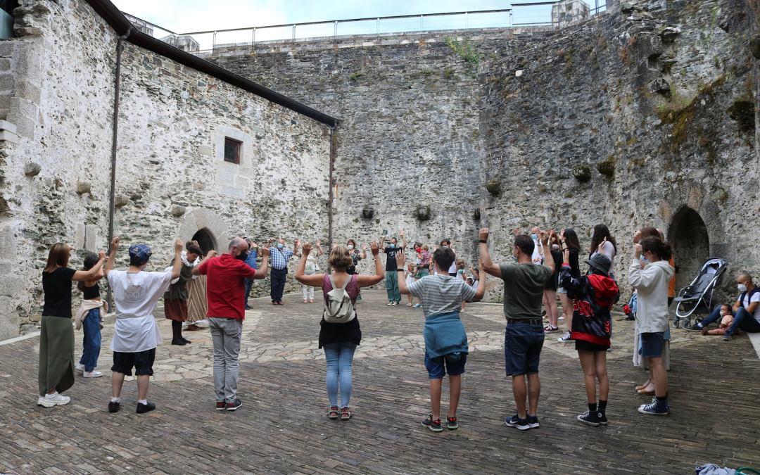 As visitas estivais ao castelo de Moeche medran un 60% con respecto a antes da pandemia