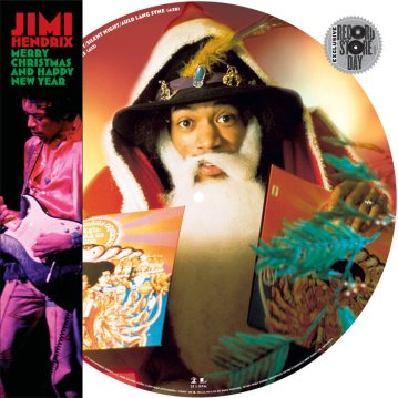 Image result for jimi hendrix merry christmas and happy new year