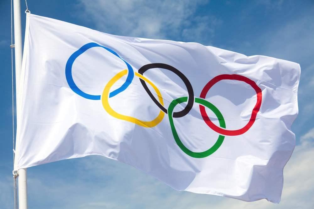 moeda de 1 real da bandeira olímpica