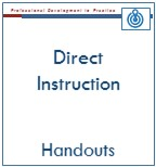Direct Instruction Handouts