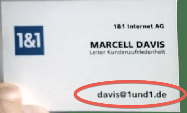 Sensationell: Internet Service Provider per Mail erreichbar!   (3/3)