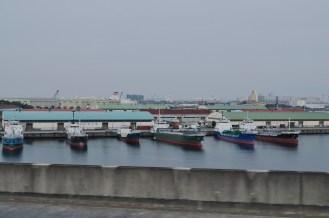 random boats docked